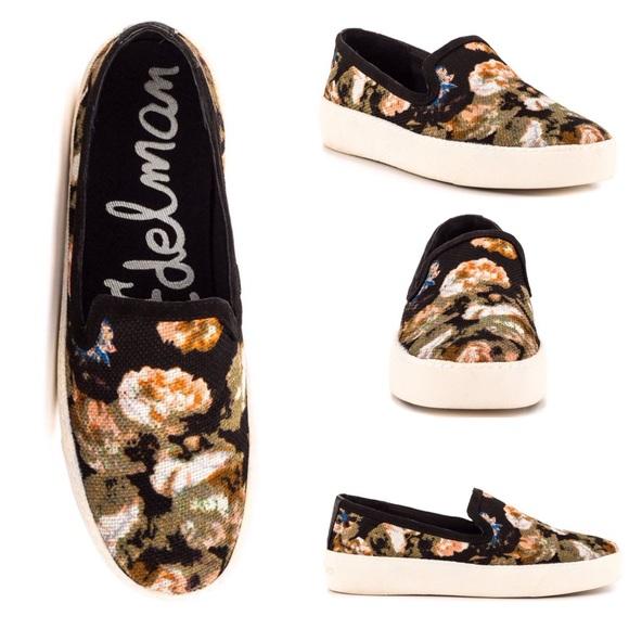 a3adf6705fca2d Sam Edelman Becker Floral Tapestry Sneakers. M 5a9c6e045521be2086753cc1